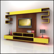 dropdead gorgeous living room interior futuristic wall unit