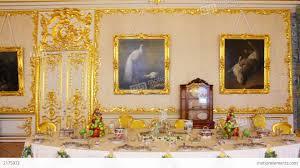 palace interior in pushkin st petersburg russia stock video