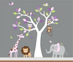 Tree Wall Decor For Nursery Wall Decor Splendid Baby Room Wall Decor Nursery Jungle Wall