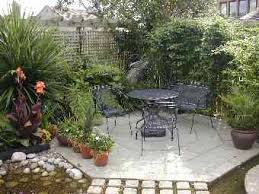 Patio Ideas For Small Gardens Small Garden Patios Pictures Pdf Small Garden Patios Pinterest