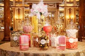 wedding candy bars gold candy gold candy buffet and buffet