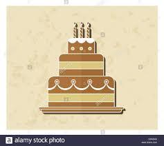 birthday cake flat icon stock photo royalty free image 103623757