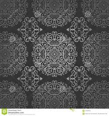 wallpaper batik ethnic traditional ornament stock illustration