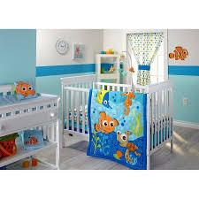 Nemo Bedding Set Disney Finding Nemo 3 Infant Bedding Set Walmart