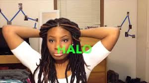 fake dreadlocks black women styles how to style your faux locs dreads youtube