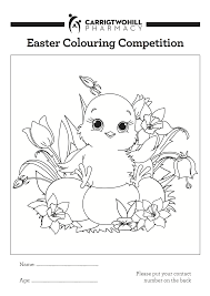 easter colouring competition 2016