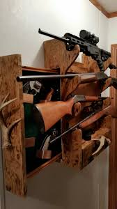 antler wine rack diy gun rack hand gun storage amunition storage lock antler