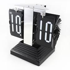 Office Desk Gift Ideas Ancient Pyramid Flip Zhongtian Ping Clock Business Gift