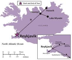 Iceland Map Location Sights And Soul Travels Iceland Geysers And Glaciers Overview