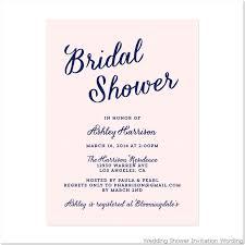 wedding shower wedding shower invitation wording iloveprojection