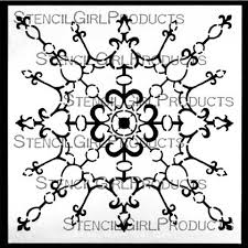 decorative filigree ornament stencil gwen lafleur stencilgirl
