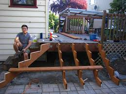 Corner Deck Stairs Design Classic Deck Stairs House Exterior And Interior New Deck Stairs