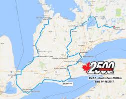 Goo Map Cannonball Rides 2500 Km Fall Motorcycle Rides