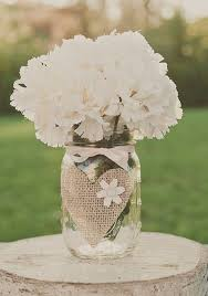 jar wedding decorations 45 chic rustic burlap lace wedding ideas and inspiration