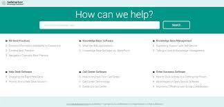 List Of Call Centers Knowledge Base Software Live Demo Safeharbor