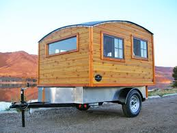 best light travel trailers bespoke terrapin cer handcrafted from wood boasts a domed roof