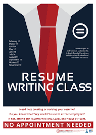 resume writing resume writing class ulstl