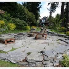 Backyard Flagstone Patio Ideas Improve Your Patio With Classic Stone Patio Design Interior