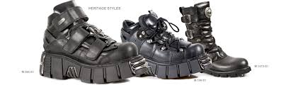 black biker style boots new rock boots and shoes new rock store