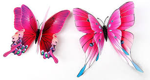 3d butterfly wall stickers butterflies bedroom wall decals