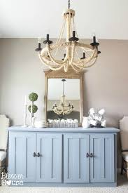 Buffet Table For Dining Room Media Stand To Buffet Table Makeover