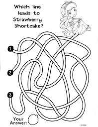 strawberry shortcake 7 coloringcolor com