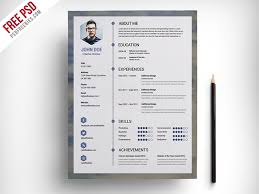 resume templates free 2017 design resume template free best templates in psd and ai 2017