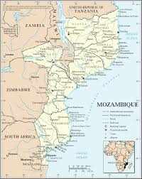Mozambique Map Polonia Mozambik Strona Glowna
