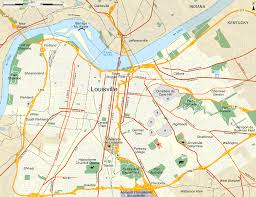 Ky Map Map Of Louisville Kentucky My Blog