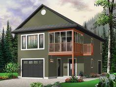Two Story Garage Plans With Apartments Rv Garage Apartment Plan 072g 0035 U2026 Pinteres U2026