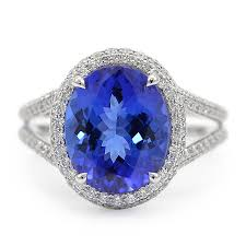 tanzanite stones rings images Trillion cut tanzanite ring minneapolis mn wixon jewelers jpg