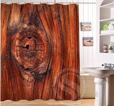 Custom Shower Curtains Wood Personalized Custom Shower Curtain Bath Curtain