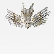 Flush Mount Chandeliers by Camer Glass A Good Quality Camer Flush Mount Chandelier With
