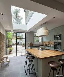 extension cuisine cuisine puits de lumière versatility of sliding barn doors