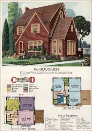 English Style House Plans by 1927 American Builder Goodrich By Radford This English Cottage