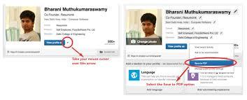 Linkedin Resume Creator by Resume From Linkedin Sainde Org Convert Your Linkedin Profile To