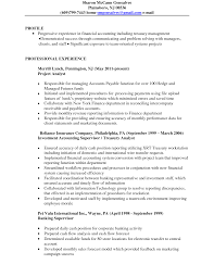 data analyst resume sample treasury analyst resume free resume example and writing download treasury analyst resume