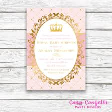 princess themed baby shower free printable invitation design