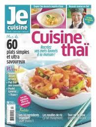 cuisine revue je cuisine cuisine thaï