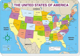 united states map with states and capitals labeled jumbo map pad u s labeled 30 pk 16 x 10 3 4 cd 3090