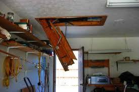 werner u0027s easy access steel attic ladder doityourself com