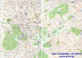 Geography Map Geography And Maps Of Athens Greece