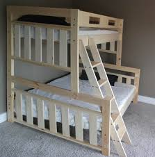 Wood Bunk Bed Ladder Only White Wood Bunk Bed Ladder Only Ss19501 Image 63 Bed Headboards