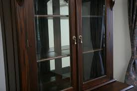 Mahogany Display Cabinets With Glass Doors by Victorian Bookcase Replica Handcrafted Of Mahogany Solid Wood