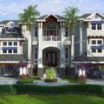 Coastal Caribbean House Plan Naples Architecture Weber Design - Caribbean homes designs