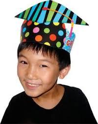 kindergarten graduation caps poppin patterns congratulations award recognize exceptional