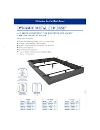 Hotel Bed Frame Dynamic Metal Bed Base Quality Hotel Mattresses