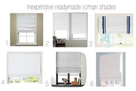 Printed Fabric Roman Shades - roman shade guide the inexpensive readymade and the