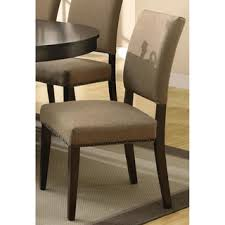 Microfiber Dining Room Chairs Brown Microfiber Dining Room U0026 Kitchen Chairs Shop The Best