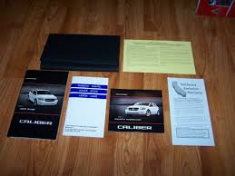 2011 dodge caliber owners manual amazon com books